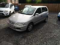 MITSUBISHI SPACE STAR 1.3i 2002 MIRAGE 54000 MILES NEW CLUTCH £325 ono (RING NICK ON 07471683999)