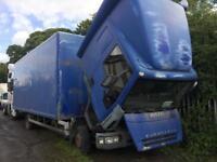 Iveco eurocargo box Truck 7.5 Ton 2004 Breaking