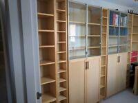 IKEA Billy bookcase units, office/study