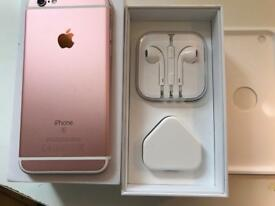 IPhone 6s rose gold 64gb ( unlocked) any network
