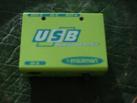 USB Midiman minisport audio port £10