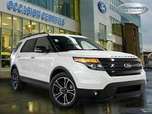 2014 Ford EXPLORER SPORT 4WD GPS, TOIT, CUIR!