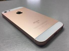 Iphone se rose Gold all networks