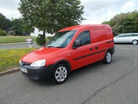VAUXHALL COMBO 1.3 CDTI DIESEL VAN STUNNING RED 2007 BARGAIN ONLY £1250 *LOOK* PX/DELIVERY