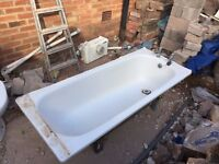 Used Bath Tub with Taps
