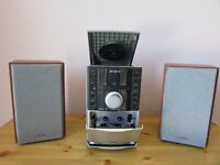 Sony Micro Hi-Fi CD/Cassette/DAB radio - CMT/EH20DAB £20