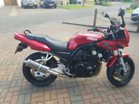 Yamaha fazer fzs600, 12 months mot, new chain and sprockets, full stainless exhaust!