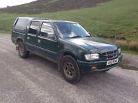 Wanted 4x4 pickups (l200, navara d21/d22, ranger/b2500, hilux, isuzu, etc) diesel, 4wd