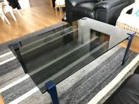 Tempered Tinted Glass Table Top (1080 x 700mm); Very Good Condition.
