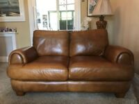 Tan Brown 2 Seater Sofology Sofa