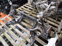2008 2014 AUDI A4 B8 REAR AXLE HUBS TRAILING ARMS SUBFRAME