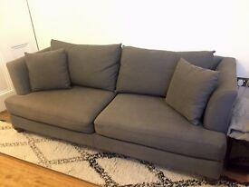 Grey Sofa Couch for Sale