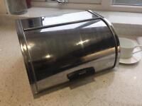 Brabantia Stainless Steel Roll Top Bread Bin