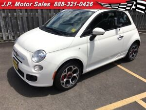 2016 Fiat 500 Sport, Automatic, Leather