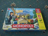 Cityville Monopoly Zynga hasbro facebook trading board game new complete box toy kids adult family