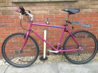Raleigh Mountain Bike c/w Road Tyres fitted and cross tyres loose