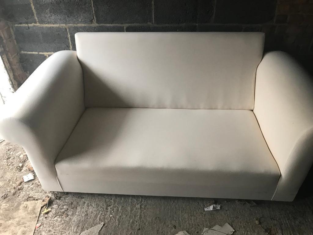 Unupholstered sofa