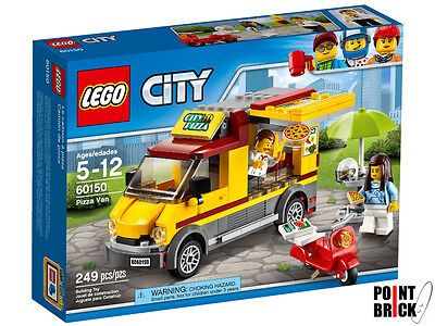 LEGO 60150 CITY Furgone delle pizze - Pizza Van
