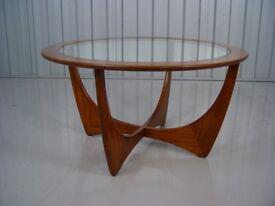 Retro G Plan Coffee Table Vintage Mid Century Furniture