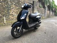 2009 Sym fiddle II 125cc learner 125 cc scooter moped with 1 years mot.