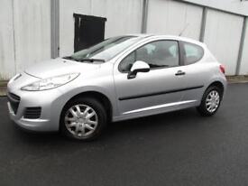 Peugeot 207 1.4 Urban 3dr (silver) 2010