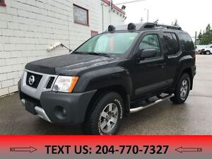 2013 Nissan Xterra PRO-4X  Clean Carproof Manitoba vehicle