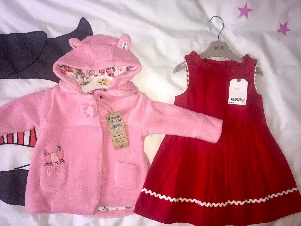 Brand new with tags girls dress and jacket