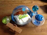 OVO hamster cage