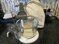 vintage retro kenwood mixer working
