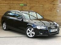 Audi A4 2.0 TDIe SE Technik 5dr SAT NAV/FULL LEATHER (phantom black pearlescent) 2013