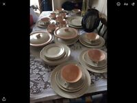 Poole pottery service £40 ono