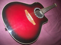 Ovation Applause AE128 Electro Acoustic Guitar.