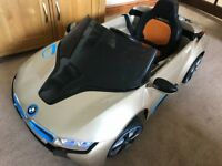 BMW i8 12V Ride-On Car