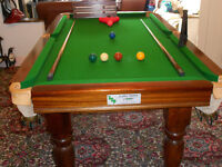 Snooker table, Alliance made
