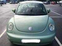 VW Beetle Cyber green 2002 1.6 great condition