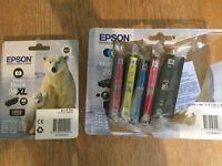 Genuine Epson 26XL Ink Catridges