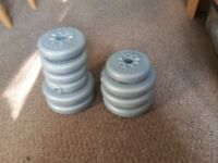 York Barbell Weights.