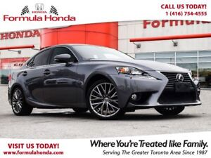 2014 Lexus IS 250 NAVIGATION   AWD   LOW KM   ONLY $35,995