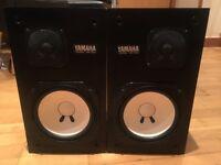 Yamaha NS-10M studio monitors matched pair