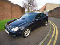2005 MERCEDES C220 CDI SE AUTOMATIC HPI CLEAR MOT UTIL 04/09/2018 JUST SPEND £520 ON THE CAR 07/2017