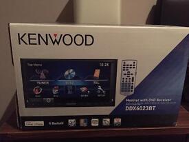 Kenwood DDX6023 BT Head Unit