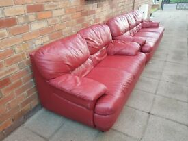 3seater and 2seater sofa £90