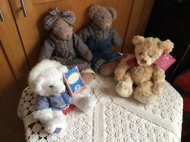 Collectible teddies