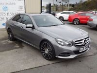 2014 MERCEDES E CLASS E250 CDI SE AUTO 202BHP AUTO SALOON (FINANCE & WARRANTY AVAILABLE)