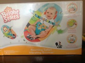 Brightstart baby bouncer