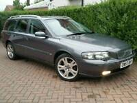 2003 53 VOLVO V70 D5 SE TOURING**AUTOMATIC**FSH*HEATD/ELEC-LEATHER*EL-PACK*MINT COND'N*#V50#AUDI#BMW