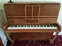 Charming & faithful vintage upright piano looking for a new home - antique, good condition