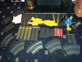 Large Lot of Scalextric Track & Parts