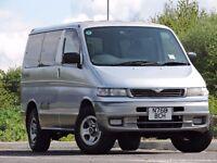 Mazda Bongo 2.5TD TIN TOP RARE 4X4 ONLY 56K