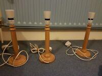 LAMP BASES £1 each